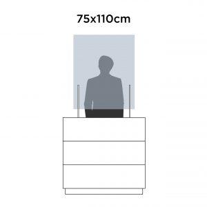 Mampara 75x110cm